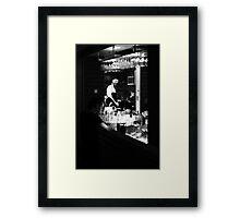 Cheffie Framed Print