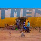 Street vendor in Mombasa, Kenya by Atanas NASKO