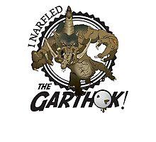 Narfle the Garthok! Photographic Print
