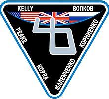 Expedition 46 Logo by Quatrosales