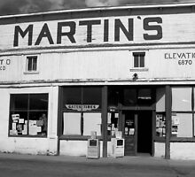 Martin's General Store~El Rito, New Mexico by Giamarie