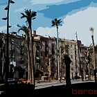 Barcelona Illustration by itchingink