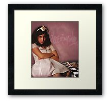 Ribbon & Lace Maketh Not The Girl Framed Print