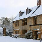 English period homes covered in snow by Chris L Smith