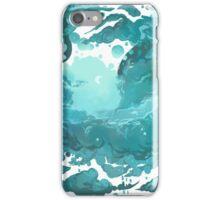 Rainy evening sky iPhone Case/Skin