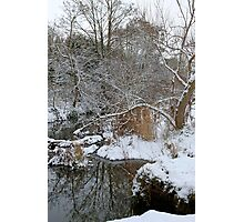 Winter wonderland in England Photographic Print