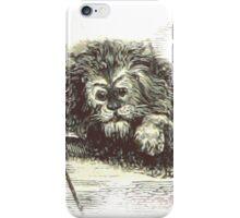Weird Creepy Old Lion iPhone Case/Skin
