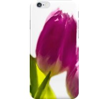 Tulips In The Morning Light - Digital Oil iPhone Case/Skin