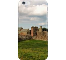 The Priory Holy Island iPhone Case/Skin