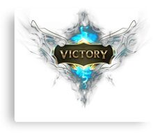 "GEEK - League Of Legend ""Victory"" Canvas Print"
