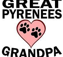 Great Pyrenees Grandpa by GiftIdea