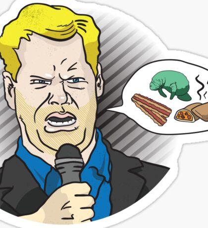Bacon Manatee Hot Pocket Sticker