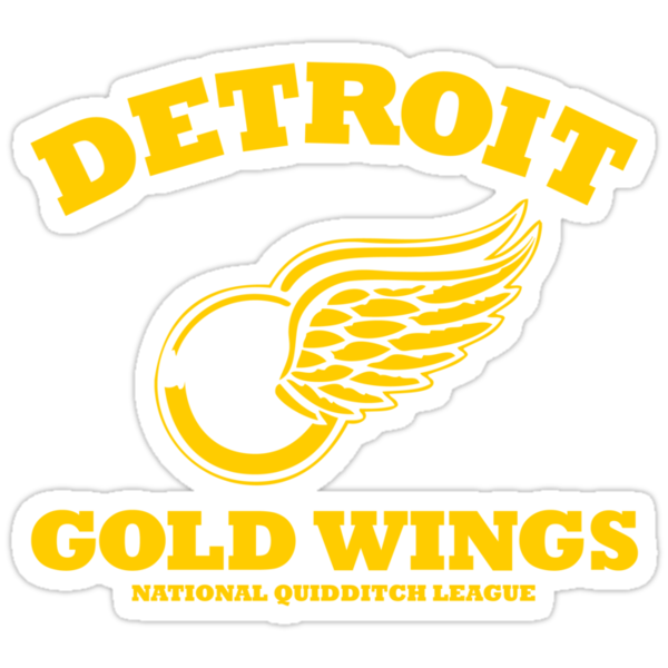 Detriot Gold Wings Away by SevenHundred