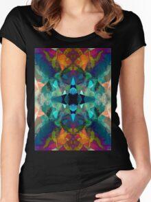 Inkblot Imagination Women's Fitted Scoop T-Shirt