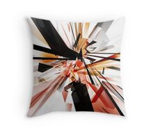 Tangled Rectangles Throw Pillow