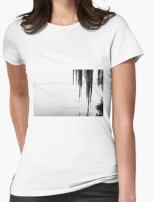 Mountains, water and willows - Hangzhou, China Womens Fitted T-Shirt