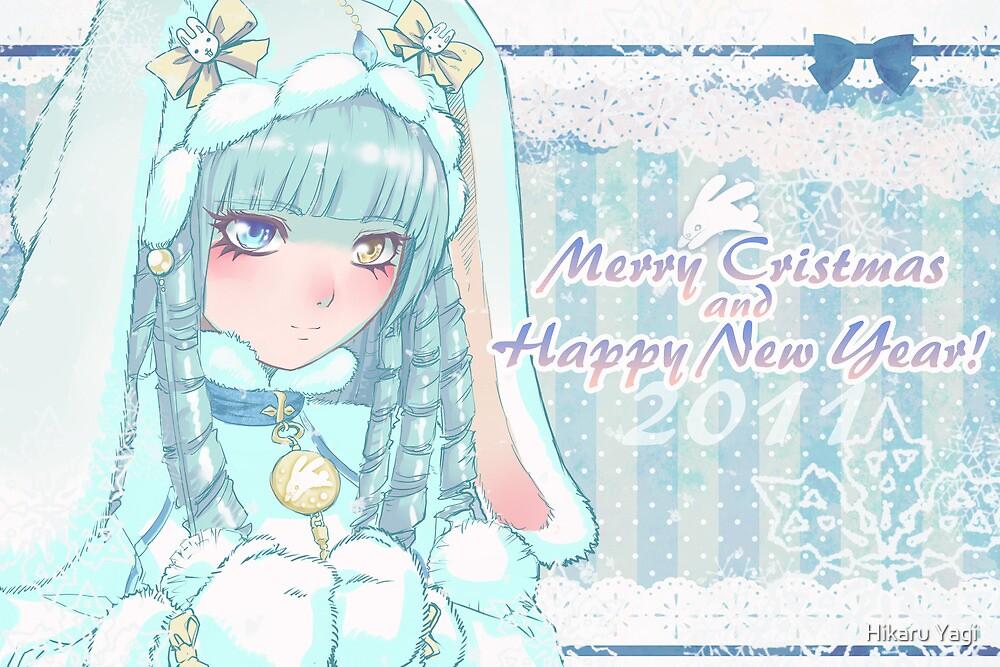 Merry Xmas and Happy New Year  by Hikaru Yagi
