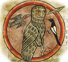 Medieval Gothic Owl created in 1230AD by Vintage Designs