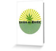 Funny Marijuana Greeting Card