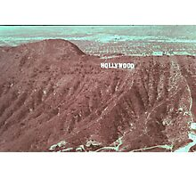 HOLLYWOOD Photographic Print