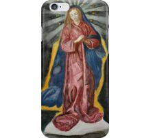 Holy Mary iPhone Case/Skin