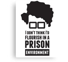Moss - The IT Crowd Canvas Print