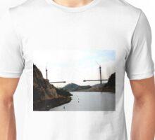 CENTENNIAL BRIDGE PANAMA CANAL-2004 Unisex T-Shirt