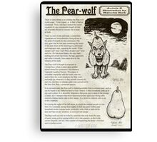 The Pear Wolf Canvas Print