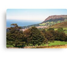 View of Llanfairfechan Canvas Print