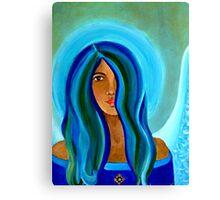 Sapphire Angel Canvas Print