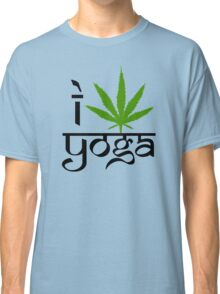 I Marijuana Yoga Classic T-Shirt