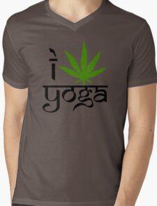 I Marijuana Yoga Mens V-Neck T-Shirt