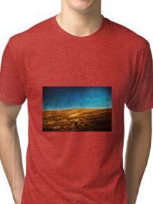 Running After The Wind Tri-blend T-Shirt