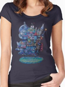 Fandom Moving Castle Women's Fitted Scoop T-Shirt