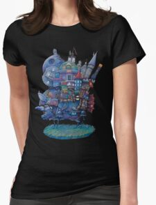 Fandom Moving Castle Womens Fitted T-Shirt