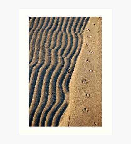 Lone Tracks Art Print