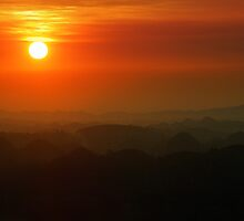 Red Sunset by Matteo Genota