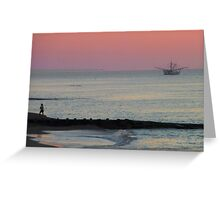 Edisto Morning Greeting Card