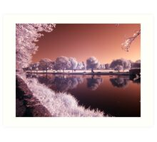 The river Avon IR Art Print