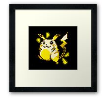 pikachu old sprite Framed Print