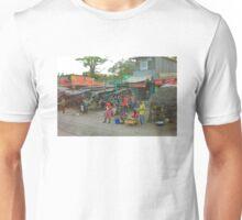 Street vendors in Mombasa, KENYA Unisex T-Shirt