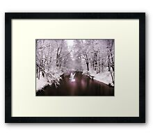 Peace on Earth (card) Framed Print