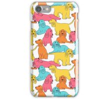 Cocker Spaniel Pattern iPhone Case/Skin