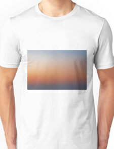 Sunrise Above The Clouds Unisex T-Shirt