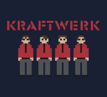Kraftwerk 8-bit One Piece - Short Sleeve