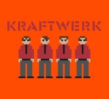 Kraftwerk 8-bit Kids Tee
