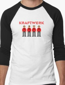Kraftwerk 8-bit Men's Baseball ¾ T-Shirt