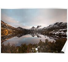 A Winters Day at Cradle Mountain Poster