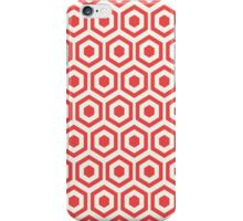 Red Hexagon Honeycomb iPhone Case/Skin