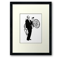 Bike Thief Framed Print
